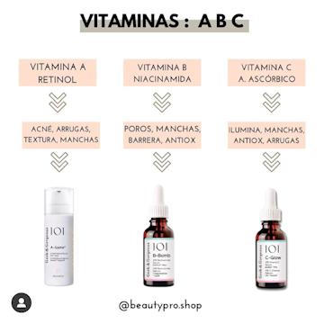 Rutina de Vitaminas: A B C