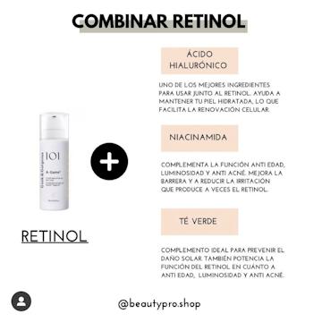 Combinar retinol