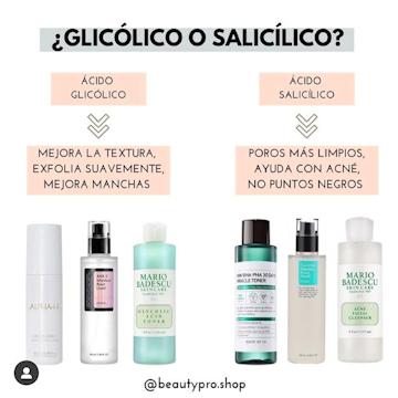 ¿Glicolico o salicilico?
